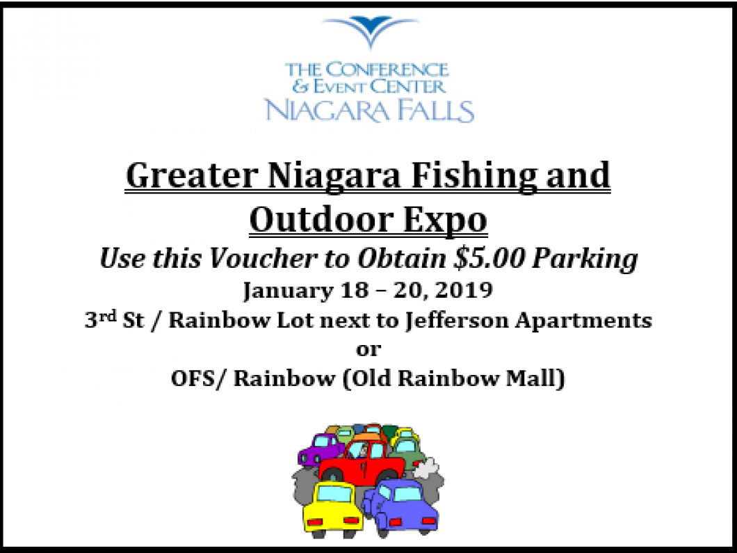 Directions to parking at the Conference Center Niagara Falls: